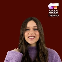 Eva en el posado oficial de 'OT 2020'