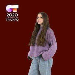 Eva en la foto oficial de 'OT 2020'
