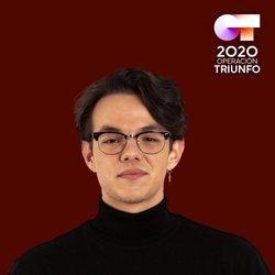 Flavio en el posado oficial de 'OT 2020'