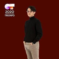 Flavio en la foto oficial de 'OT 2020'