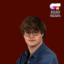 Gèrard en el posado oficial de 'OT 2020'