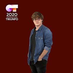 Gèrard en la foto oficial de 'OT 2020'