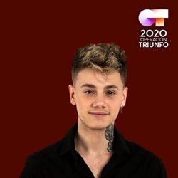 Hugo en el posado oficial de 'OT 2020'