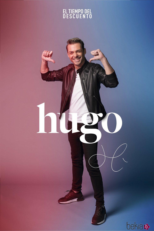 Hugo Castejón en la fotografía oficial de 'El tiempo del descuento'