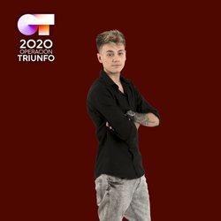 Hugo en la foto oficial de 'OT 2020'