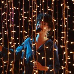 Anne Lukin durante su actuación en la gala 0 de 'OT 2020'