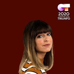 Maialen en el posado oficial de 'OT 2020'