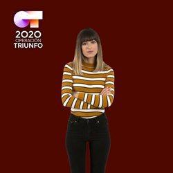 Maialen en la foto oficial de 'OT 2020'