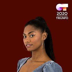 Nia en el posado oficial de 'OT 2020'