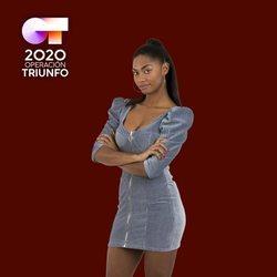 Nia en la foto oficial de 'OT 2020'