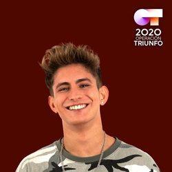 Nick en el posado oficial de 'OT 2020'