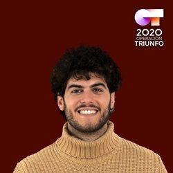 Rafa en el posado oficial de 'OT 2020'