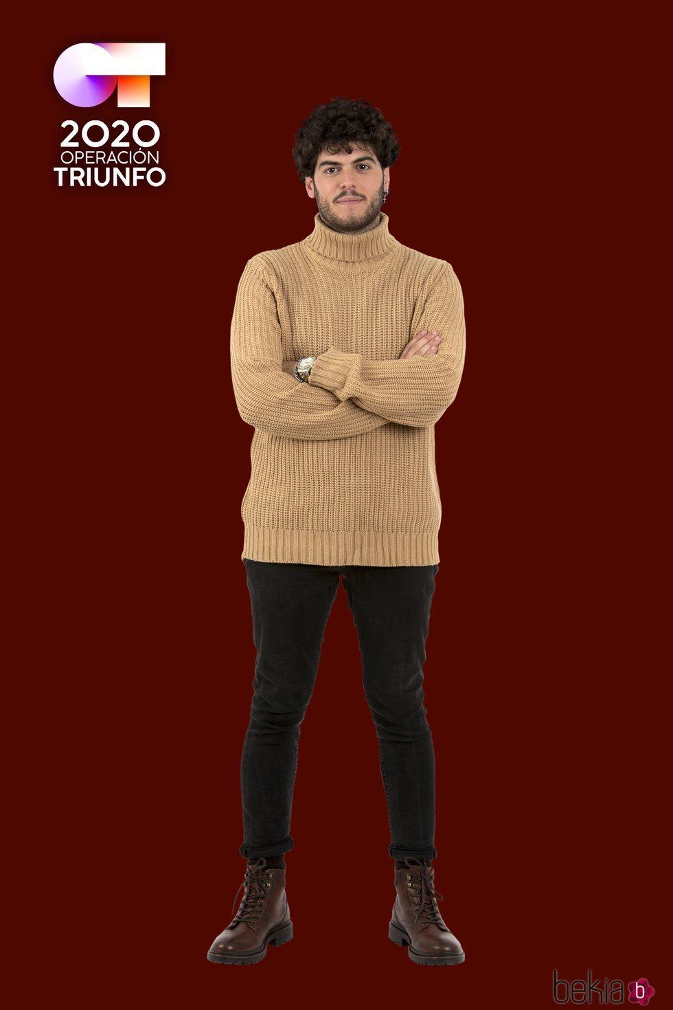 Rafa en la foto oficial de 'OT 2020'