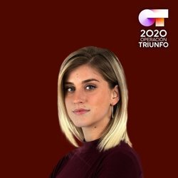 Samantha en el posado oficial de 'OT 2020'