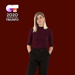 Samantha en la foto oficial de 'OT 2020'