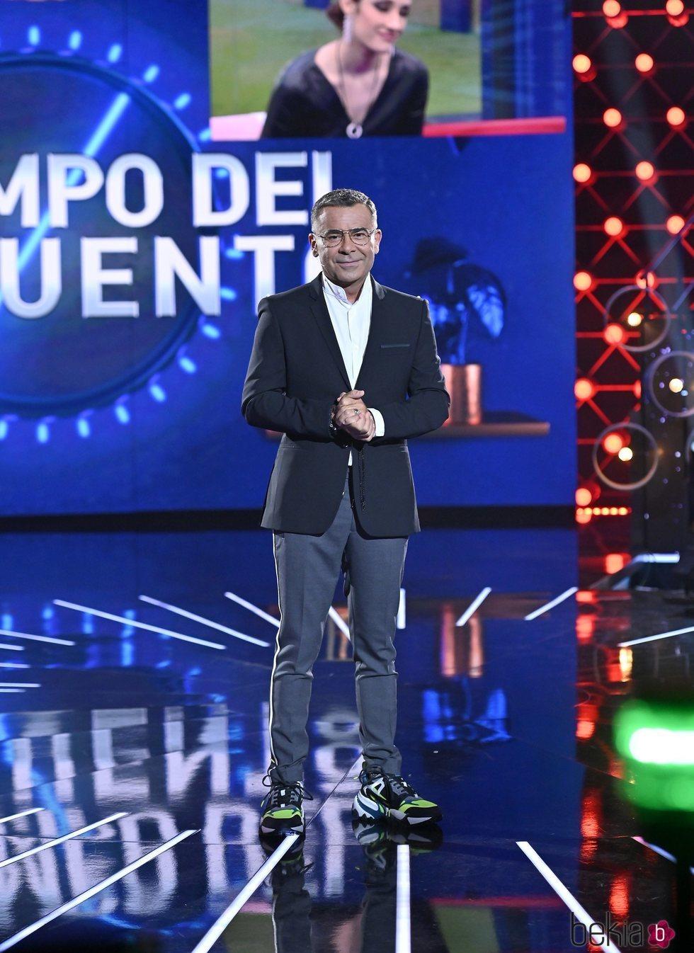 Jorge Javier Vázquez en la gala de estreno de 'El tiempo del descuento'