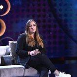 Rocío Flores en la gala de estreno de 'El tiempo del descuento'