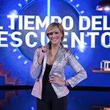 María Jesús Ruiz en la gala de estreno de 'El tiempo del descuento'