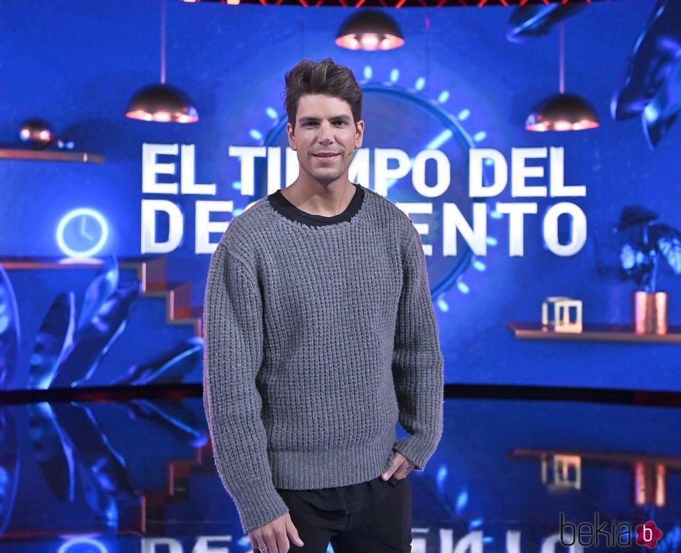 Diego Matamoros en la gala de estreno de 'El tiempo del descuento'