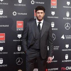 José Lamuño en la alfombra roja de los Premios Feroz 2020