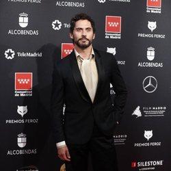 Paco León en la alfombra roja de los Premios Feroz 2020