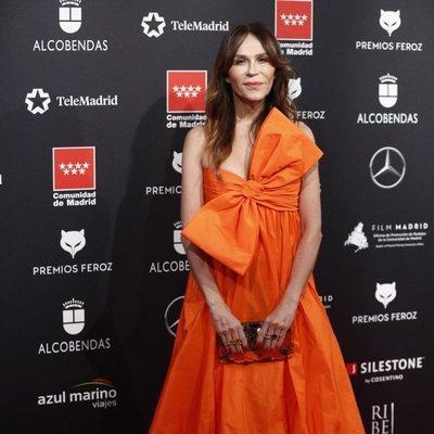 Antonia San Juan en la afombra roja de los Premios Feroz 2020