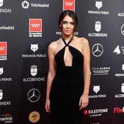 Claudia Traisac en la alfombra roja de los Premios Feroz 2020