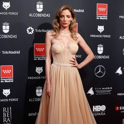 Maria Hervás en la alfombra roja de los Premios Feroz 2020