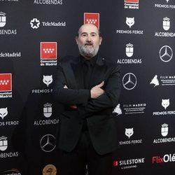 Javier Cámara en la alfombra roja de los Premios Feroz 2020