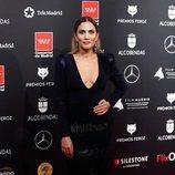 Toni Acosta en la alfombra roja de los Premios Feroz 2020