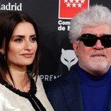 Penélope Cruz y Pedro Almodóvar en la alfombra roja de los Premios Feroz 2020