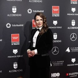 Anna Allen en la alfombra roja de los Premios Feroz 2020