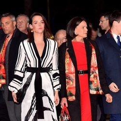 Estefanía de Mónaco y Pauline Ducruet en el Festival de Circo de Monte-Carlo 2020