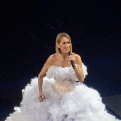 Céline Dion homenajea a su madre fallecida en un concierto