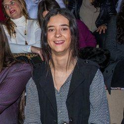 Victoria Federica posa para la prensa en el desfile de We Love Flamenco 2020