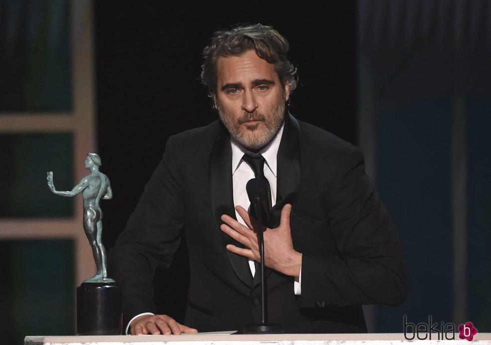 Joaquin Phoenix en los Premios SAG 2020