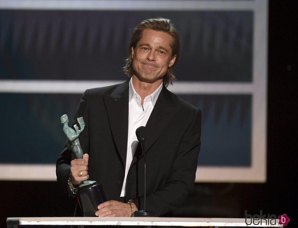 Brad Pitt en los Premios SAG 2020