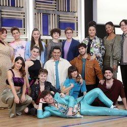 Los concursantes de 'OT 2020' en la foto grupal de la Gala 0