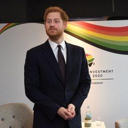 El Príncipe Harry en la Cumbre de Inversión Reino Unido-África