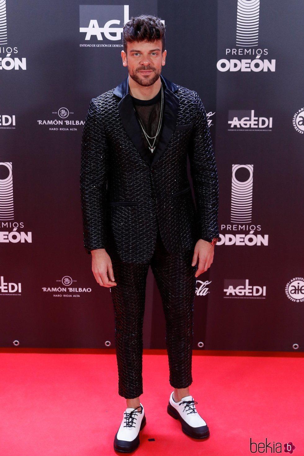 Ricky Merino en los Premios Odeón 2020