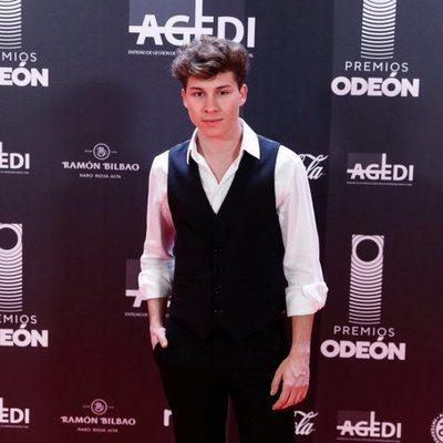 Raoul Vázquez en los Premios Odeón 2020