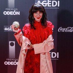 Natalia Ferviú en los Premios Odeón 2020