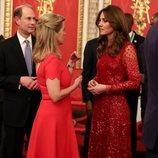 El Príncipe Eduardo, Kate Middleton y Sophie Rhys-Jones en la recepción por la Cumbre de Inversión Reino Unido-África