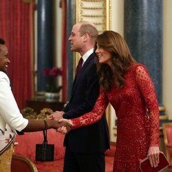 El Príncipe Guillermo y Kate Middleton en la recepción por la Cumbre de Inversión Reino Unido-África