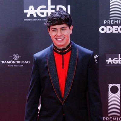 Alfred García en los Premios Odeón 2020