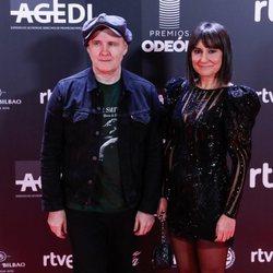 Eva Amaral y Juan Aguirre en los Premios Odeón 2020