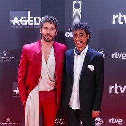 Paco León y Tomasito en los Premios Odeón 2020