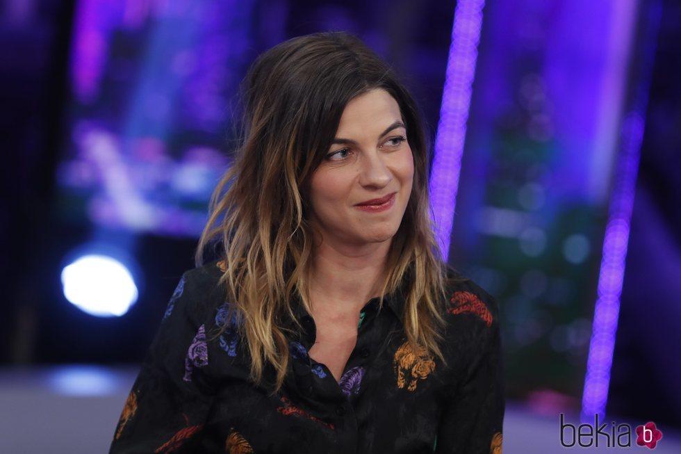 Natalia Tena presentando la película 'Te quiero, imbécil' en 'El hormiguero'