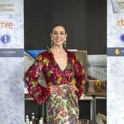 Raquel Sánchez Silva en la presentación de la tercera temporada de 'Maestros de la Costura'