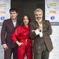 Palomo Spain, María Escoté y Lorenzo Caprile en la tercera temporada de 'Maestros de la Costura'